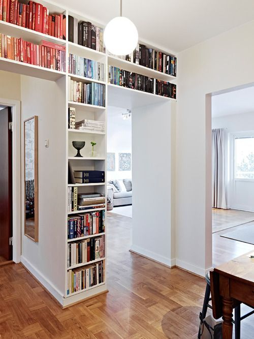 Doorway Wall Storage Solutions For Small Spaces | Home, Apartment .