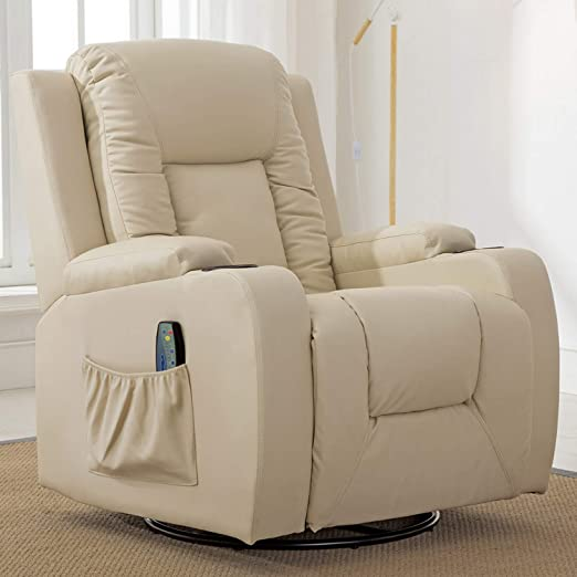 Amazon.com: ComHoma Recliner Chair Massage Rocker with Heated .