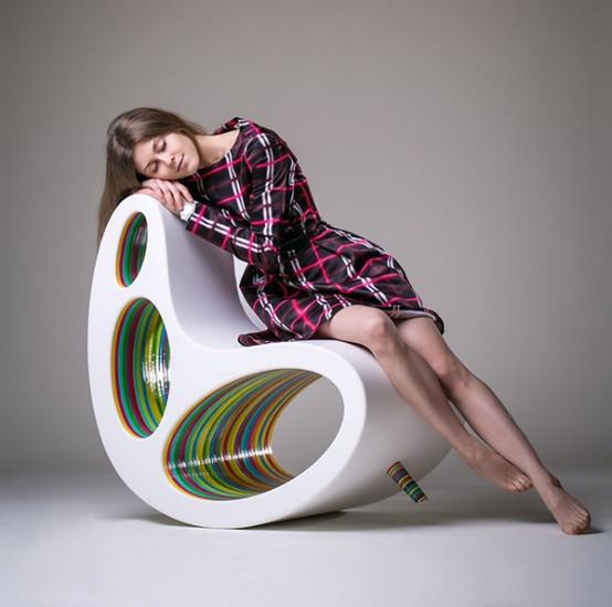 DP Chair: Ultra Modern Take On A Rocker And Lounge - DigsDi