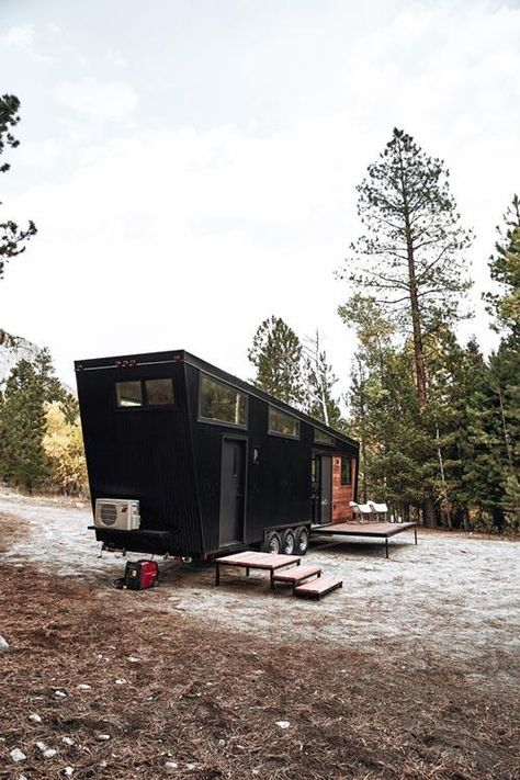"""30' """"Draper"""" Tiny House on Wheels by Land Ark RV (With images ."""
