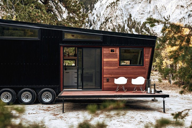 the mid-century modern 'draper' RV — for mad men-style life on whee