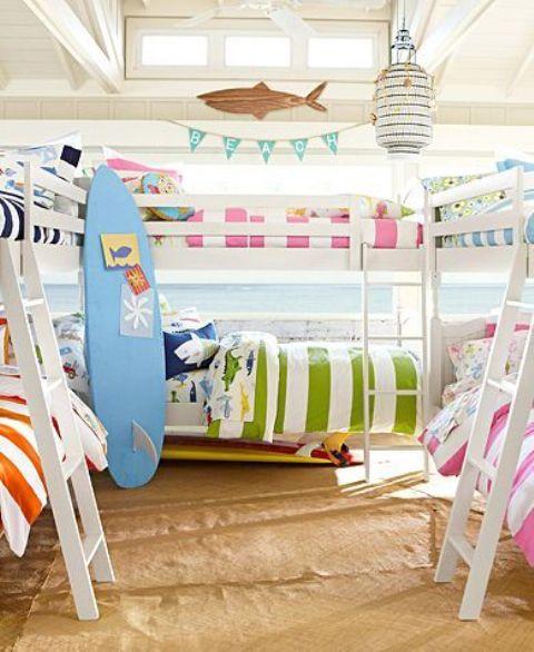 32 Dreamy Beach And Sea-Inspired Kids Room Designs - DigsDi