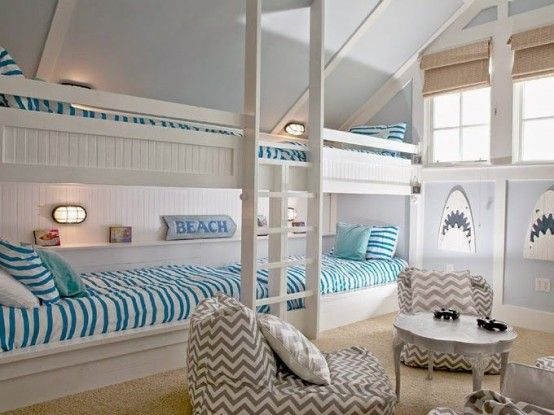32 Dreamy Beach And Sea-Inspired Kids Room Designs - DigsDigs .