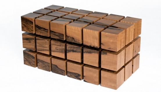 Dynamic Float Table Inspired By The Rubik's Cube - DigsDi