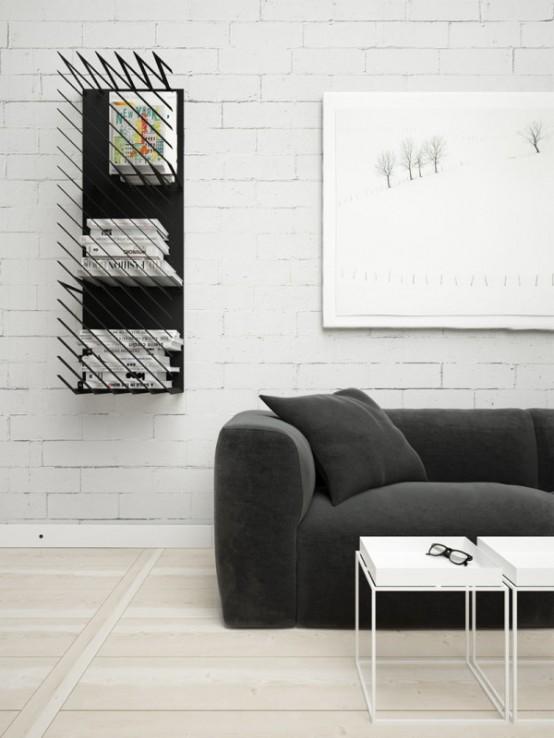 Dynamic, Graphic And Modular Hash Bookshelf - DigsDi