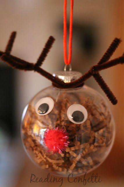 Reindeer Ornament | Christmas crafts, Christmas ornaments homemade .