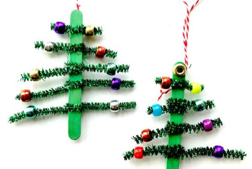 DIY Christmas Ornaments to Make With Toddlers - Mommy on Purpo