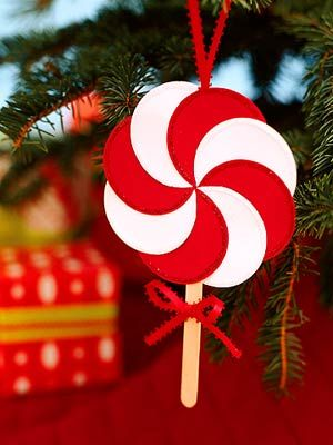 Print It: Simple Paper Ornaments | Easy christmas decorations .