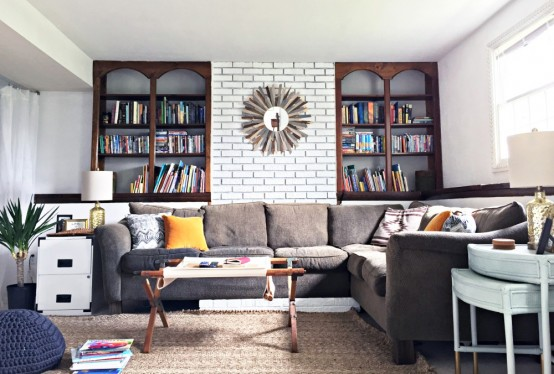 Eclectic And Cozy Virginia Home Decorated By Its Owners - DigsDi