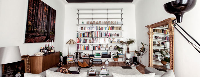 Eclectic apartment by Atelier Karasinski - Nordic Desi