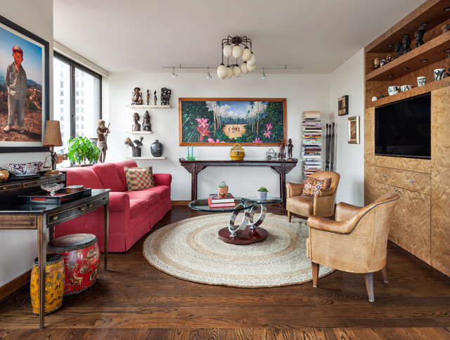 Eclectic Apartment in Manhattan - Eclectic - Family Room - New .
