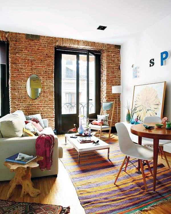 Charming and eclectic apartment in Madr