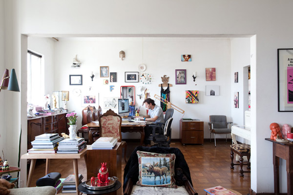 Eclectic Apartment in the Spirit of Sao Pao