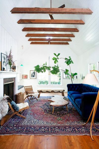Grounding Element | Eclectic living room, Living room designs .