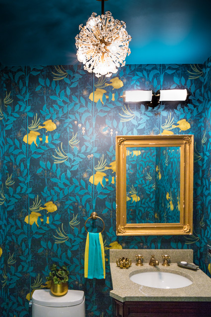 DOWNTOWN ECLECTIC APARTMENT - Eclectic - Powder Room - New York .