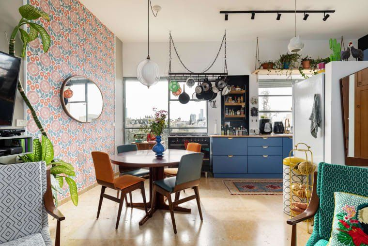 This Rental Apartment's Remodel Is Extremely Eclectic and Cool .