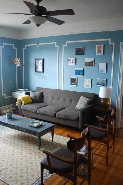 AJ & Alex's Eclectic Shabby Chic Queens Apartment | Shabby chic .
