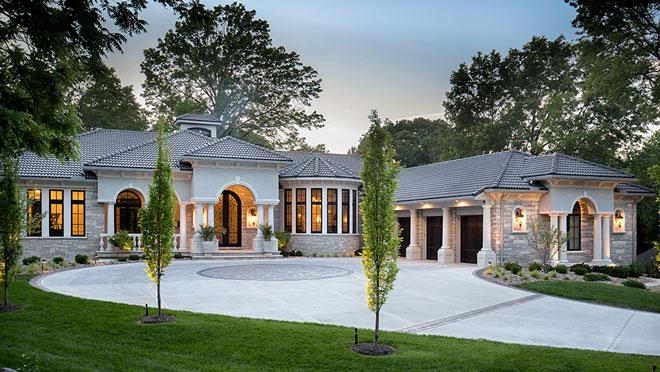 Contemporary Eclectic Home Exterior