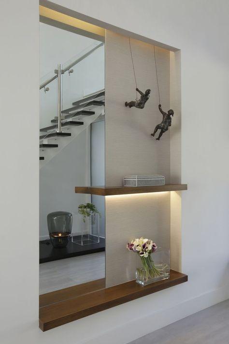 Modern Eclectic Home | Residential interior design, Foyer design .