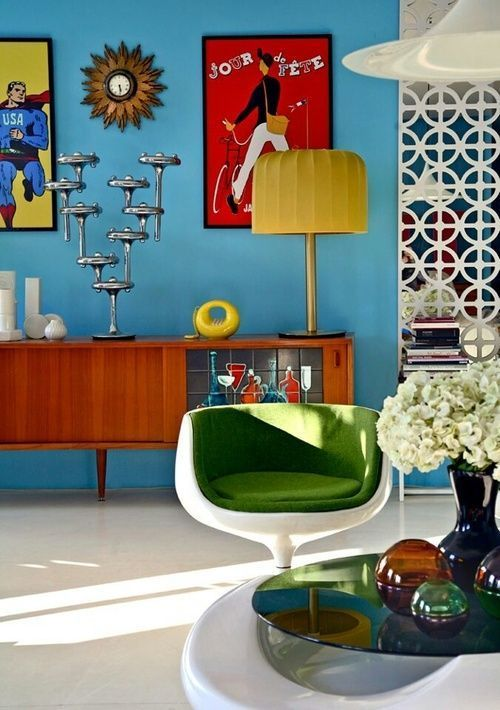 How to give your home a retro vibe (Daily Dream Decor) | Mid .