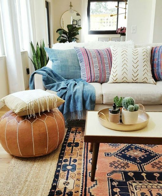 How to Achieve the Eclectic Boho-Vintage Vibe at Home Featuring .