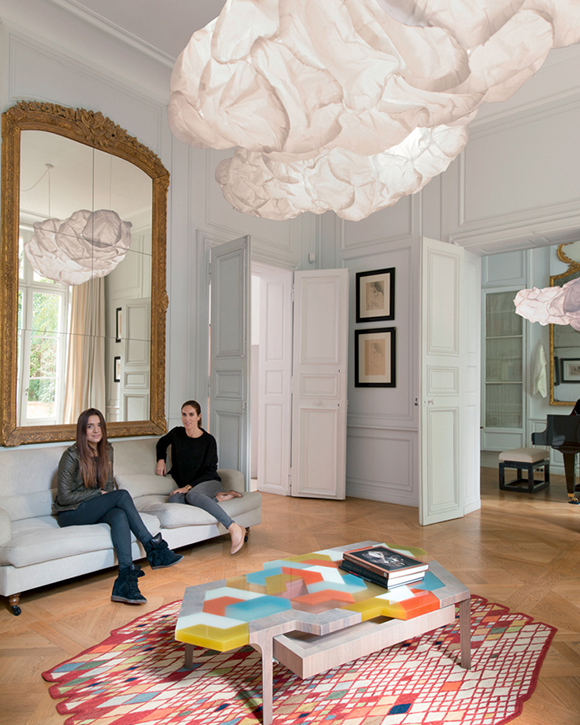 Eclectic Trends | An eclectic oasis in the city of Paris .