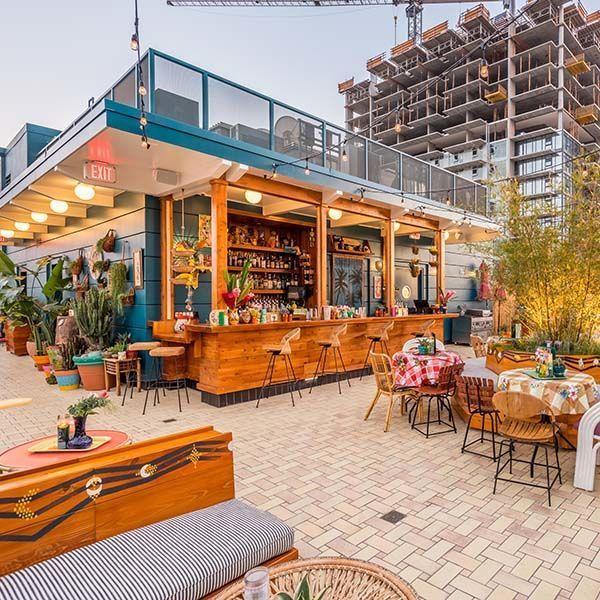 Broken Shaker | Downtown Los Angeles Rooftop Bar | Rooftop bars .