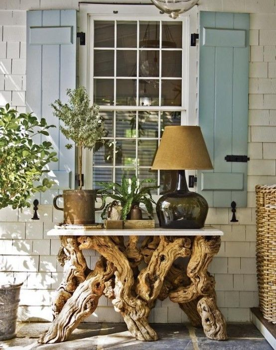 Eco Friendly Driftwood Furniture Ideas To Try in 2019 | Driftwood .