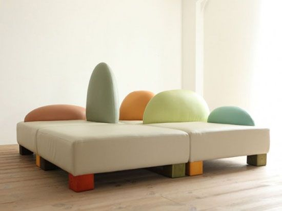 Kid's couch by Hiromatsu Furniture | Kids bedroom furniture, Funny .