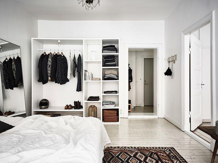 Edgy bedroom/closet | Edgy bedroom, Simple bedroom design .