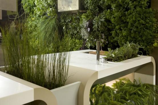 Electrolux Modern Outdoor Kitchen - DigsDi