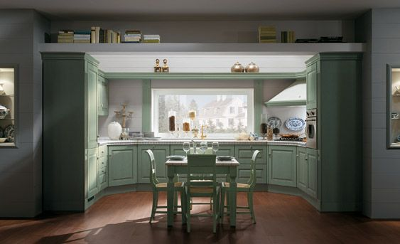 Elegant and Cozy Classic Kitchens - Absolute Classic by Scavolini .