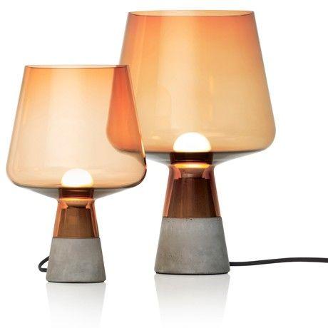 Leimu - Iittala.com | Concrete lamp, Concrete light, Glass lighti