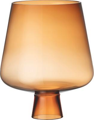 Iittala - Leimu glass lamp shade 300 x 200 mm copper - Iittala.c