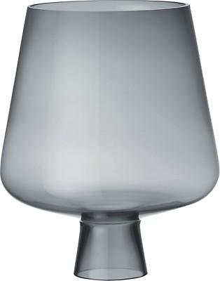 Iittala - Leimu glass lamp shade 380 x 250 mm grey - Iittala.c