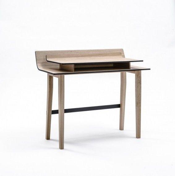 Elegant Listy Desk With Storage Space Between The Tops   Desk .