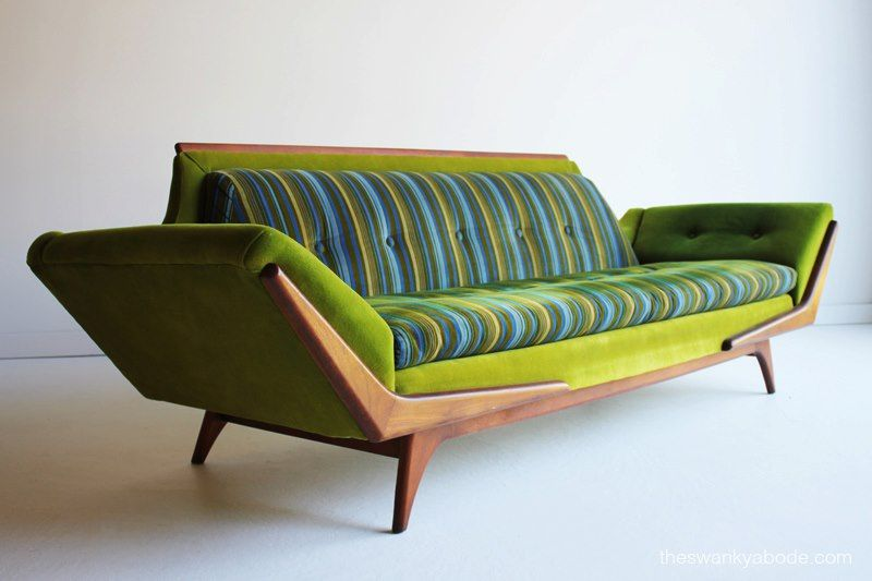 35 Elegant Mid-Century Sofas For Your Interior   Sofa design, Mid .