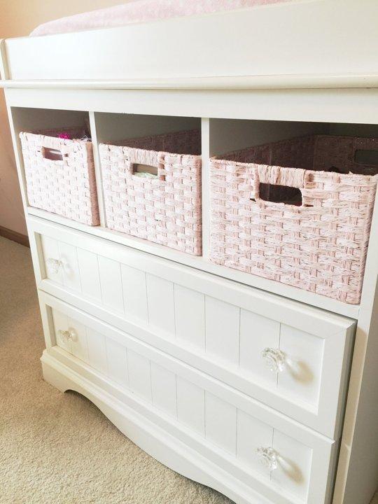Elegant Pale Pink Nursery Design With Delicate Details - DigsDi
