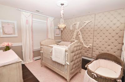 Kennedy's Pink and Grey Rococo Princess Palace Nurse