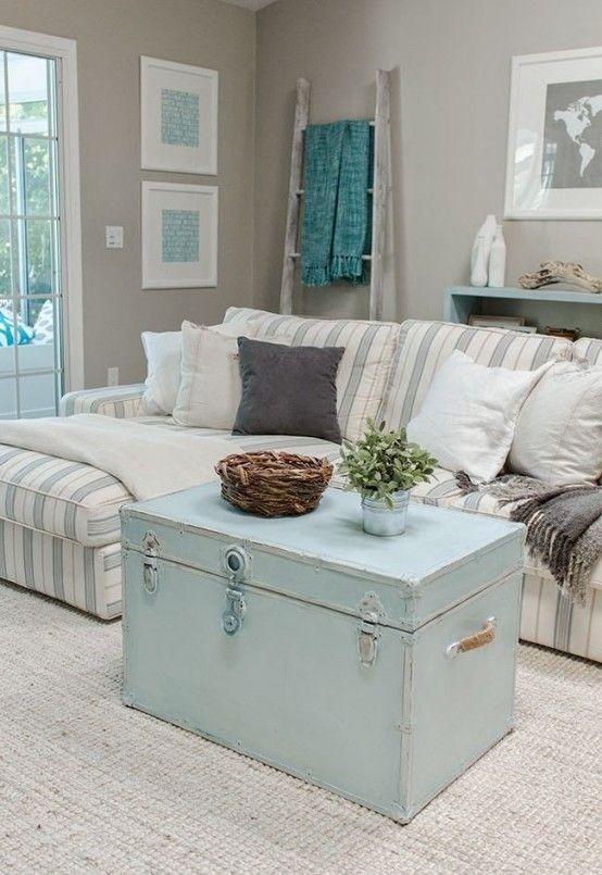 37 Enchanted Shabby Chic Living Room Designs - DigsDigs .
