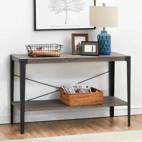 6 Entryway Console Tables with Storage – Vur
