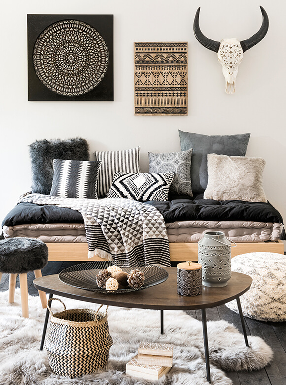 How To Add Ethnic Chic Style To Your Living Room   Decohol