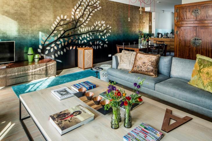 17+ Ethnic Living Room Designs, Ideas   Design Trends - Premium .