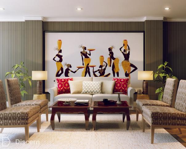 Ethnic Rhythm Ethnic Ethnic Living Room - Shop the look   Discern .