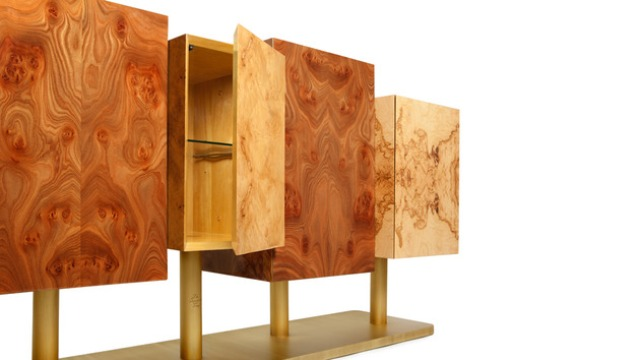 Interior Decorating and Home Design Ideas: Exotic Tree Sideboard .