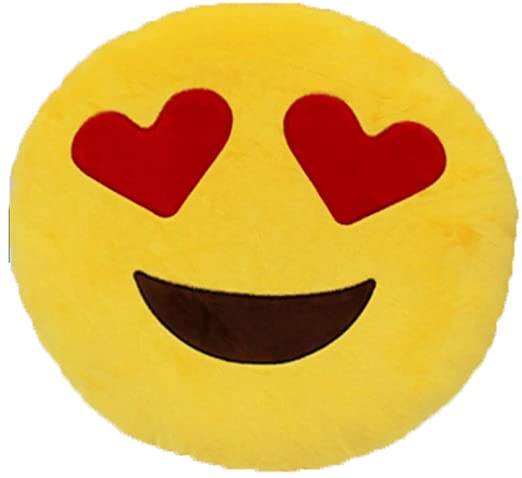 Amazon.com: EVER OASIS Funny Emoticon Stuffed Pillow Plush Toy .