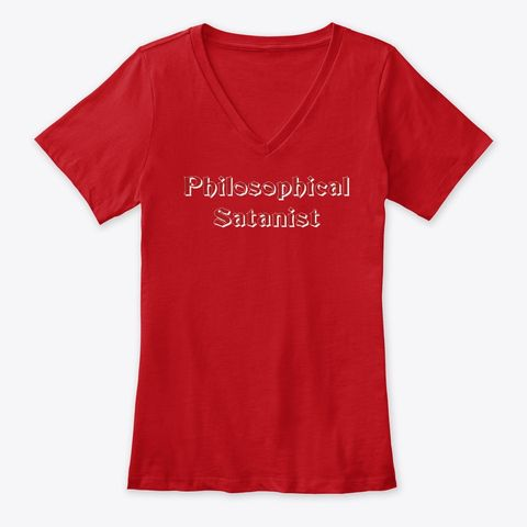 """Express yourself with a""""Philosophical Satanist"""" T-shirt, mug ."""