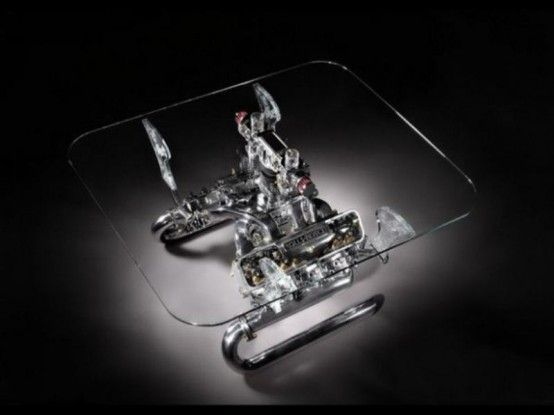 Exquisite Sofas And Coffee Tables With Car Parts | Coffee table .