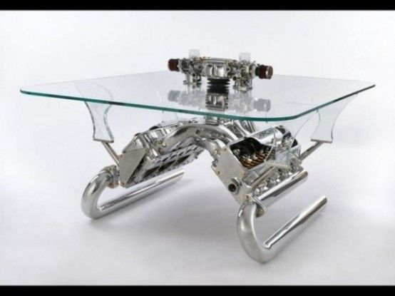Exquisite+Sofas+And+Coffee+Tables+With+Car+Parts | Car part .