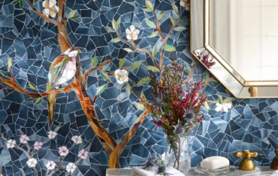 decorating with mosaic tiles Archives - DigsDi